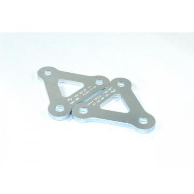 Kit rehausse de selle +25 mm Tecnium pour Triumph Daytona 675 06-15
