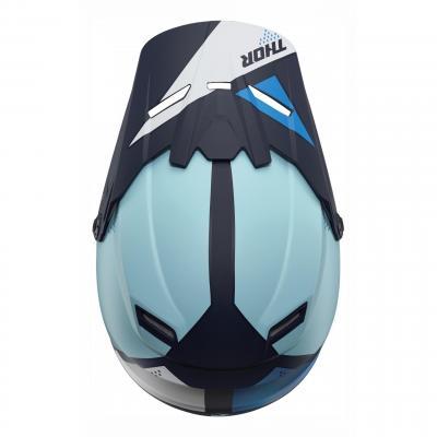 Kit visière Thor pour casque enfant Sector Blade navy/bleu