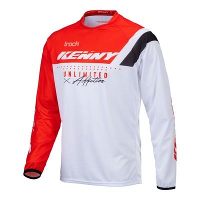 Maillot cross Kenny Track Focus rouge