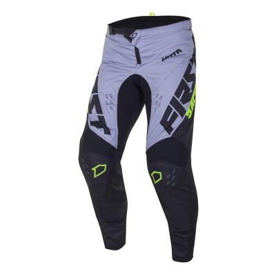 Pantalon cross First Racing Data Evo noir/gris/jaune fluo