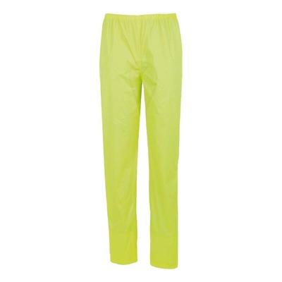 Pantalon de pluie Tucano Urbano Nano Rain Zeta avec couvre chaussures extractible jaune fluo