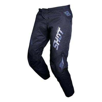 Pantalon enduro Shot Contact Zip noir