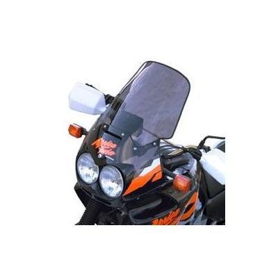 Pare-brise Bullster haute protection 40 cm fumé gris Honda Africa Twin 750 96-03