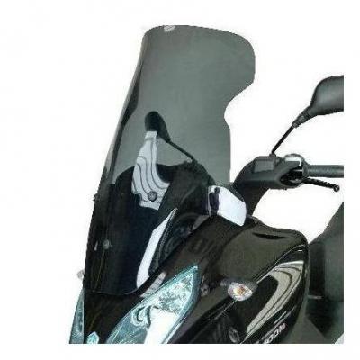 Pare-brise Bullster haute protection 71 cm fumé gris Piaggio MP3 500 LT 11-16