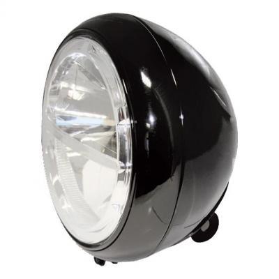 Phare LED Highsider Voyage fixation inférieure noir
