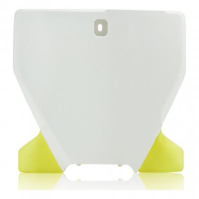 Plaque de numéro frontale Acerbis Husqvarna 250 FC 19-21 blanc/jaune