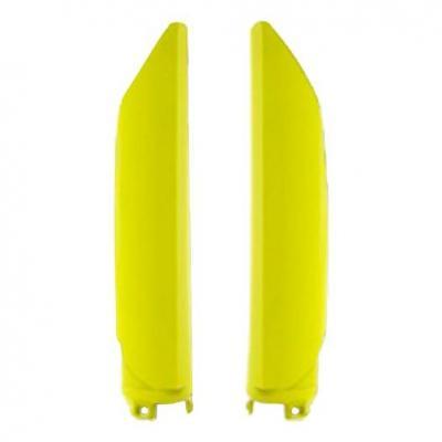 Protection de fourche Polisport Honda CRF 250R 2020 jaune fluo