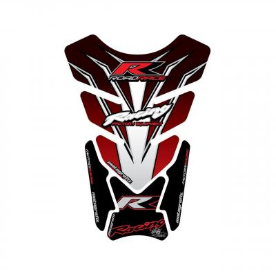 Protection de réservoir Motografix rouge/noir/blanc Honda 4 pièces