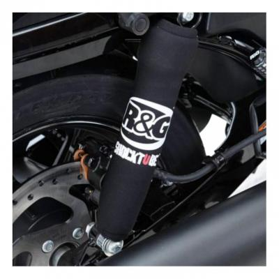 Protections d'amortisseurs R&G Racing noires Yamaha X-Max 300 17-18