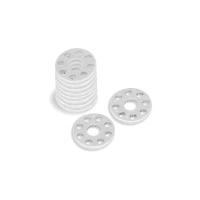 Rondelle perçée aluminium Bolt M6xØ18mm (10 pièces)