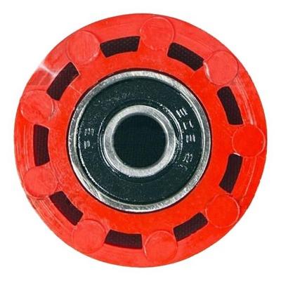 Roulette de chaîne UFO Honda CRF 250R 10-11 rouge (rouge CR/CRF 00-18)
