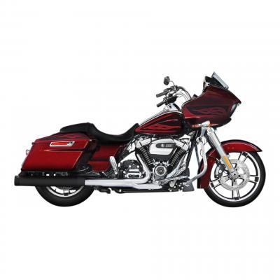 Silencieux Rinehart Slip-on Ø 10 cm Harley Davidson Milwaukee 8 117 embout noir