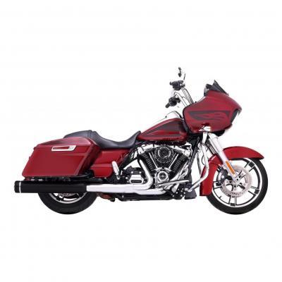 Silencieux Rinehart Slip-on Ø 11,5 cm Harley Davidson Milwaukee 8 117 embout noir
