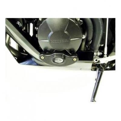 Slider moteur gauche R&G Racing noir Honda CBR 600 RR 07-08