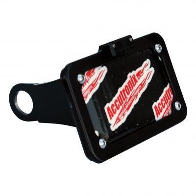 Support de plaque latéral Accutronix éclairage LED Harley Davidson Sportster 10-17 noir