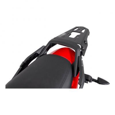 Support top case SW-MOTECH ALU-RACK noir Triumph Sprint ST 1050 / Tiger 1050 SE
