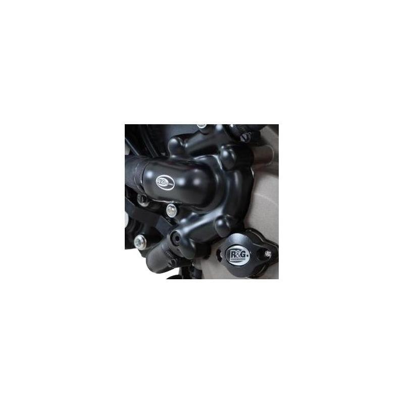Couvre carter de pompe à eau R&G Racing noir Ducati Xdiavel 1200 16-18