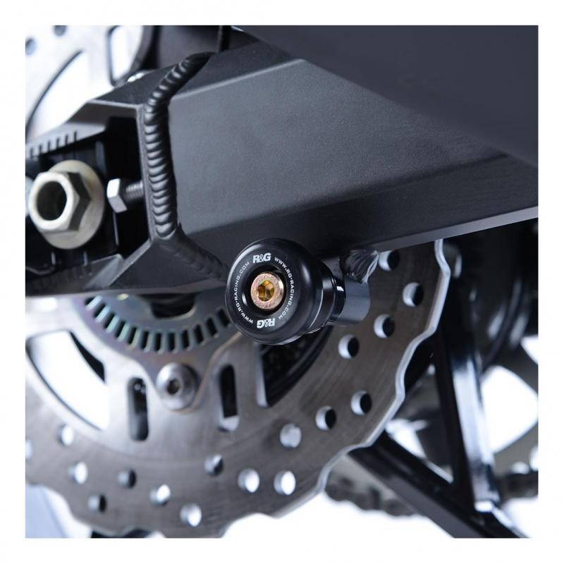Diabolos de bras oscillant R&G Racing noir Kawasaki Z900 17-18