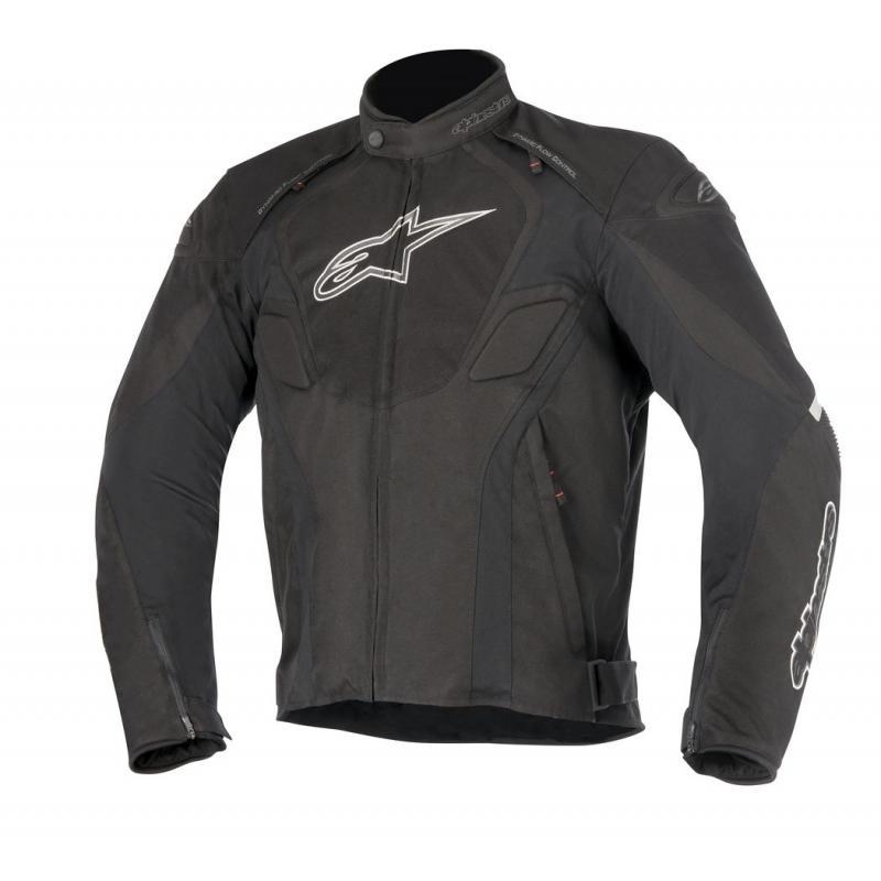 Blouson textile Alpinestars T-Jaws Waterproof noir/anthracite