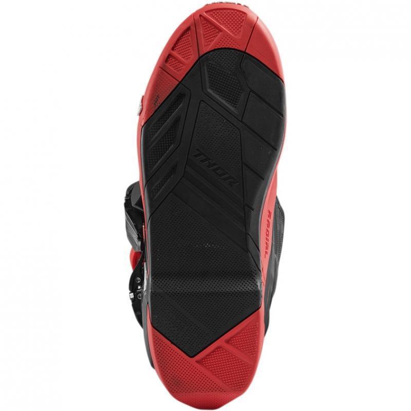 Bottes cross Thor Radial rouge/noir - 2