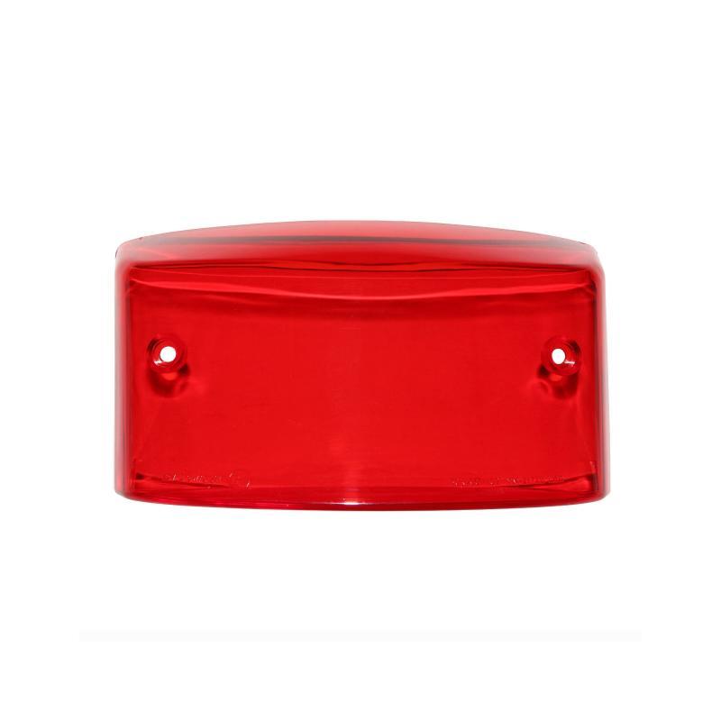Cabochon feu arrière rouge adaptable MBK 50 Booster 2004>/Yamaha 50 BW's 2004> - 1