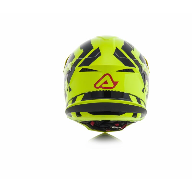 Casque cross Acerbis Profile 4 jaune/noir - 3