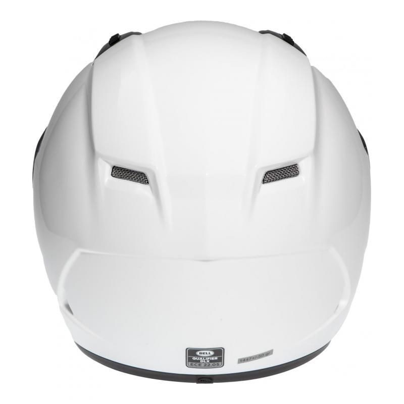 Casque intégral Bell Qualifier DLX Solid blanc - 4