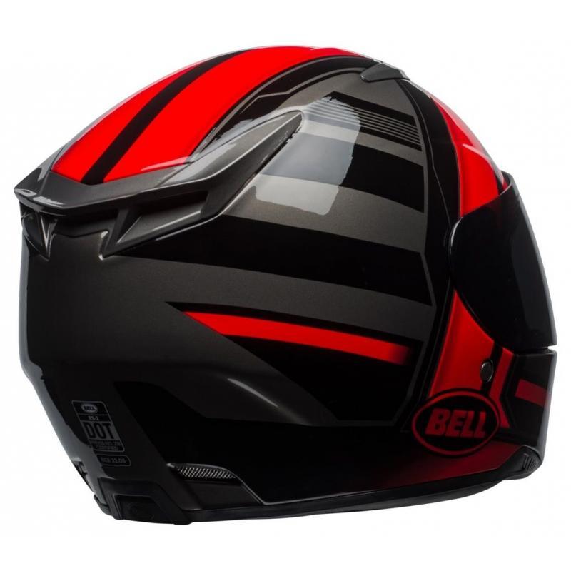 Casque intégral Bell RS 2 Tactical rouge/noir/titanium - 3