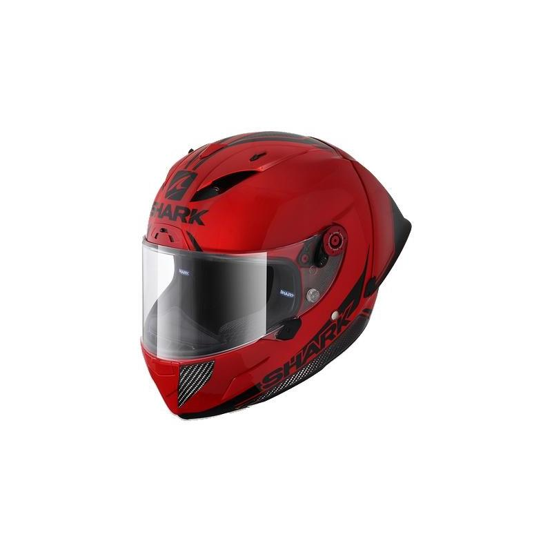 Casque intégral Shark Race-R Pro GP Blank 30th Anniversary rouge/carbone