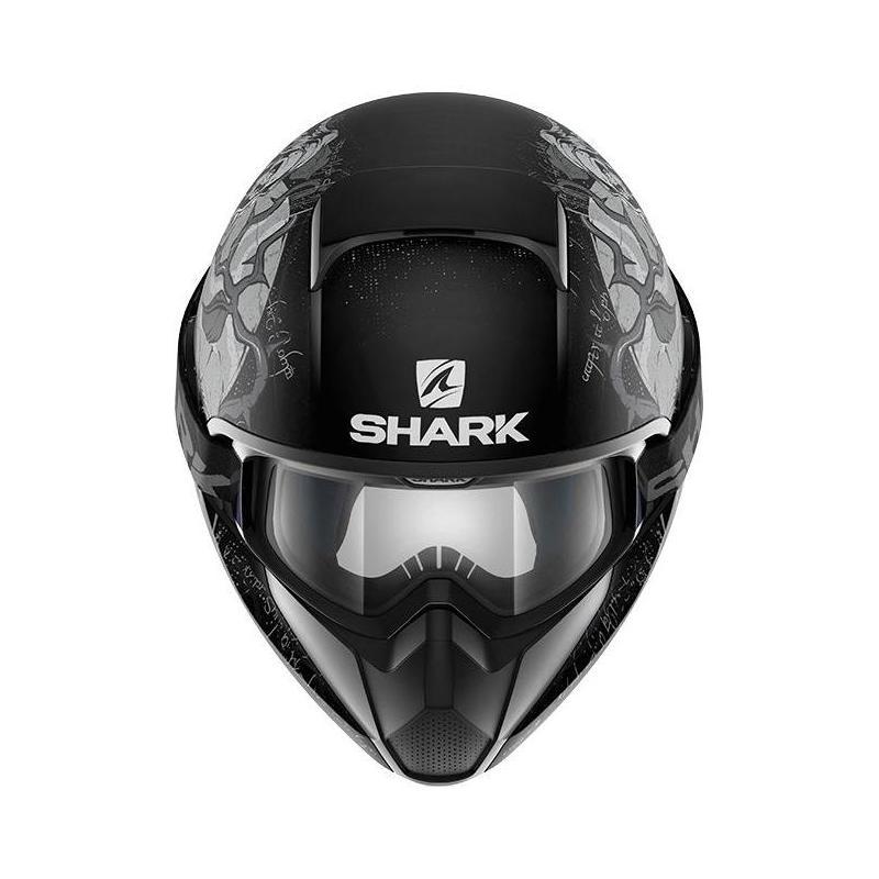 Casque intégral Shark VANCORE ASHTAN Mat noir/argent/anthracite - 2