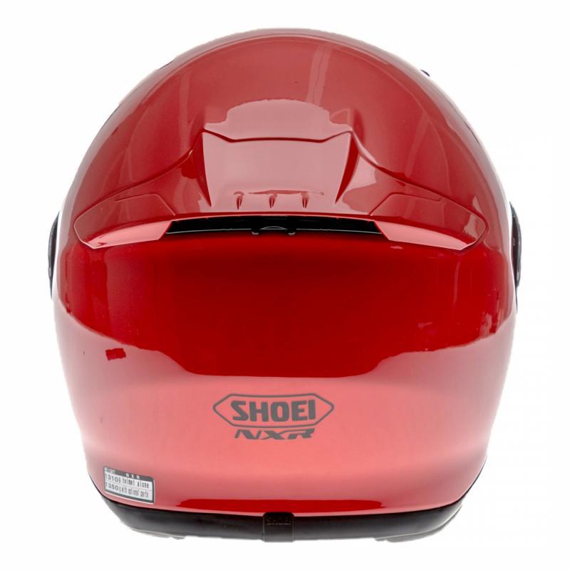 Casque intégral Shoei NXR rouge brillant - 4