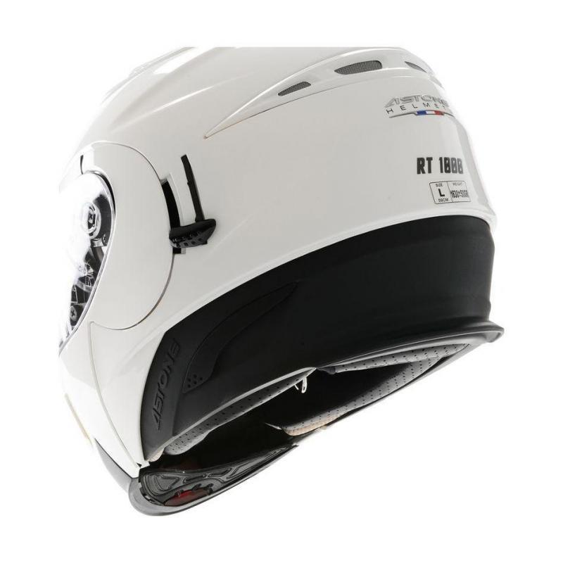 Casque Modulable Astone Rt 1000 Mono blanc - 2