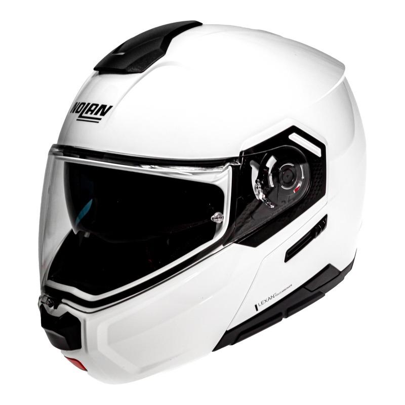 Casque modulable Nolan N90-3 Special N-Com Pure white