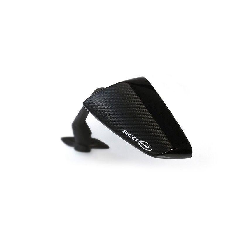 Coque de rétroviseur BCD Yamaha Tmax 530 15-16 noir / carbone - 4