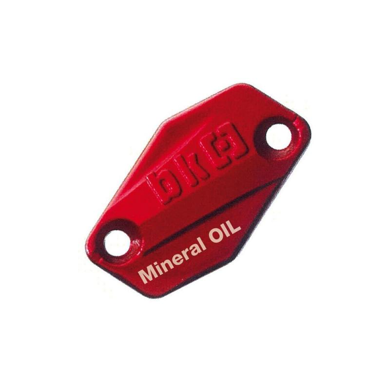 Couvercle de maître cylindre d'embrayage Braktec rouge