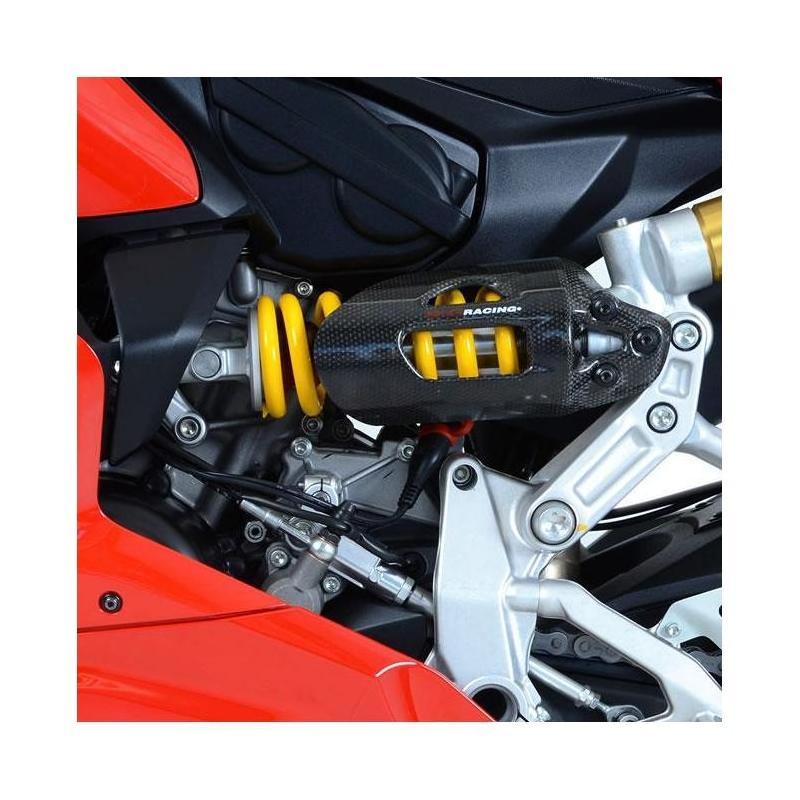 Couvre carter gauche R&G Racing noir Ducati Panigale 959 16-18