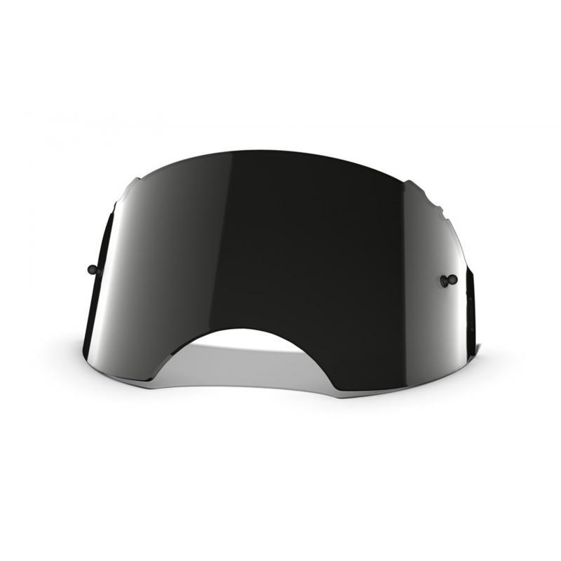Écran Oakley en plutonite pour masque Airbrake Dark gray