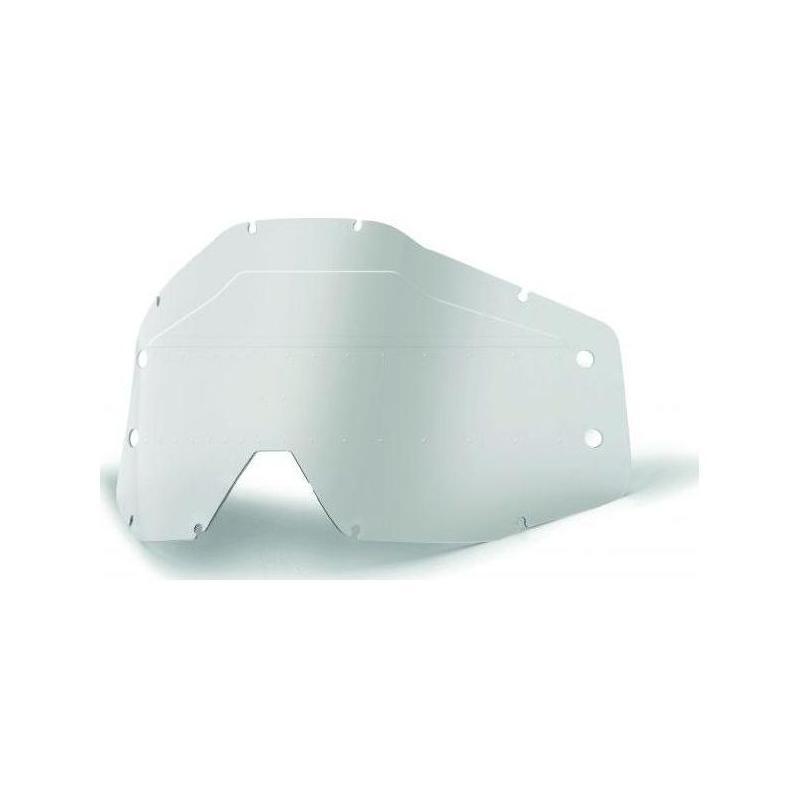 Écran pour masque Roll-off 100% Accuri Forecast Sonic Bumps (avec picots) clair