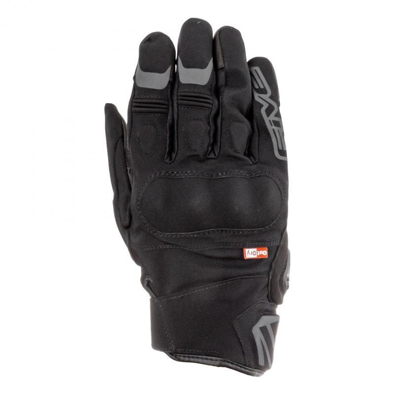 Gants cuir/textile Five Boxer Outdry noir