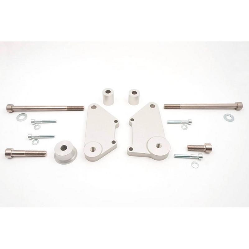 Kit fixation sur moteur pour tampon de protection LSL Honda CB 900 F Hornet 02-07
