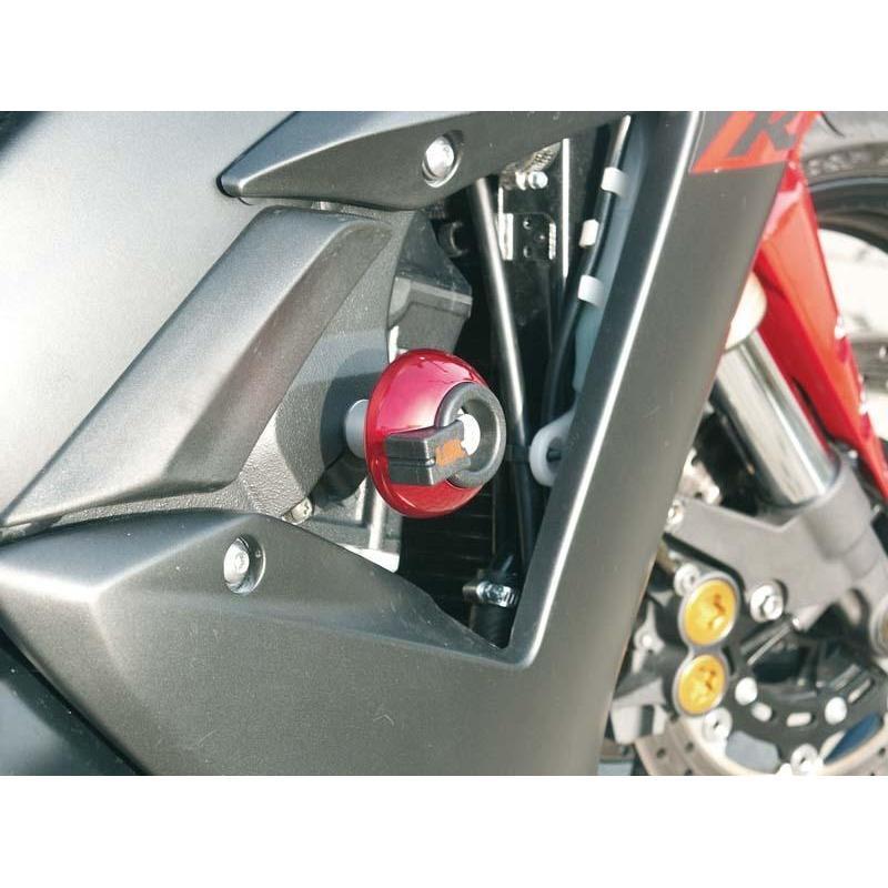 Kit fixation tampon de protection LSL Yamaha YZF-R1 02-03