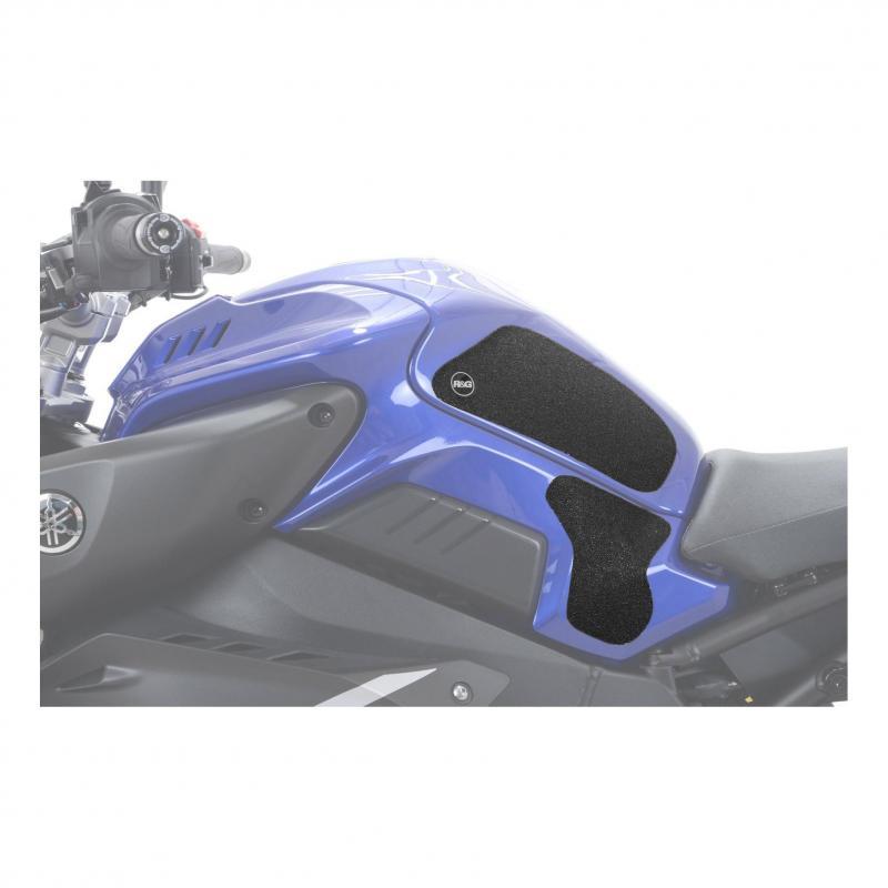 Kit grip de réservoir R&G Racing noir Yamaha MT-10 16-18