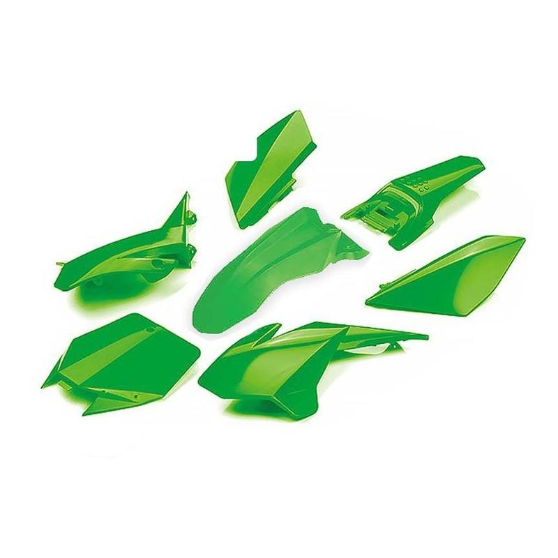 Kit plastique complet YCF 88 Lite à partir 2020 vert