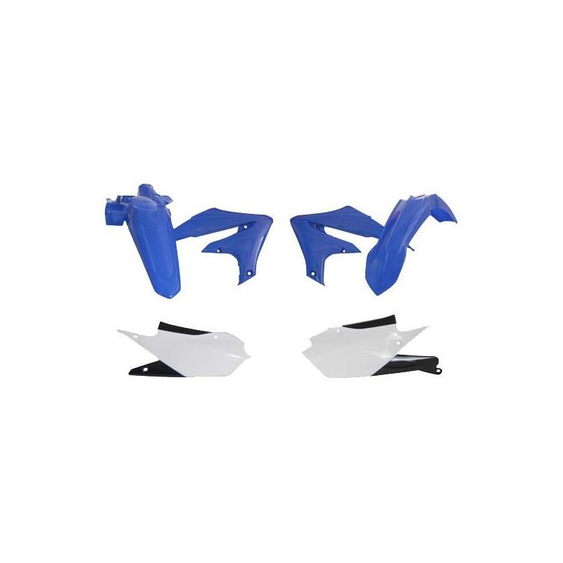 Kit plastique RTech Yamaha 250 WR-F 2020 bleu YZ/blanc (couleur OEM)