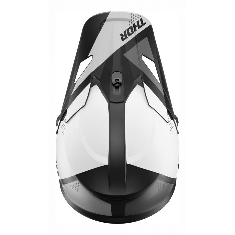 Kit visière Thor pour casque Sector Blade noir/blanc