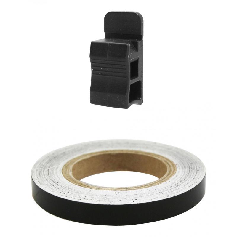 Liseret de jante Tun'R 7mm x 6m noir avec applicateur - 2