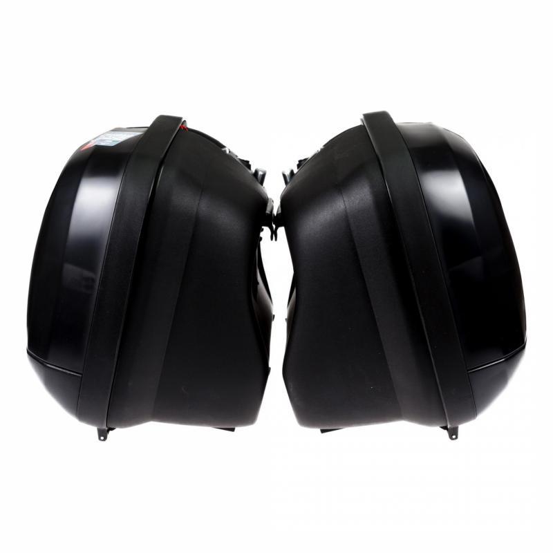 Paire de valises latérales Givi V35 catadioptres fumés - 3