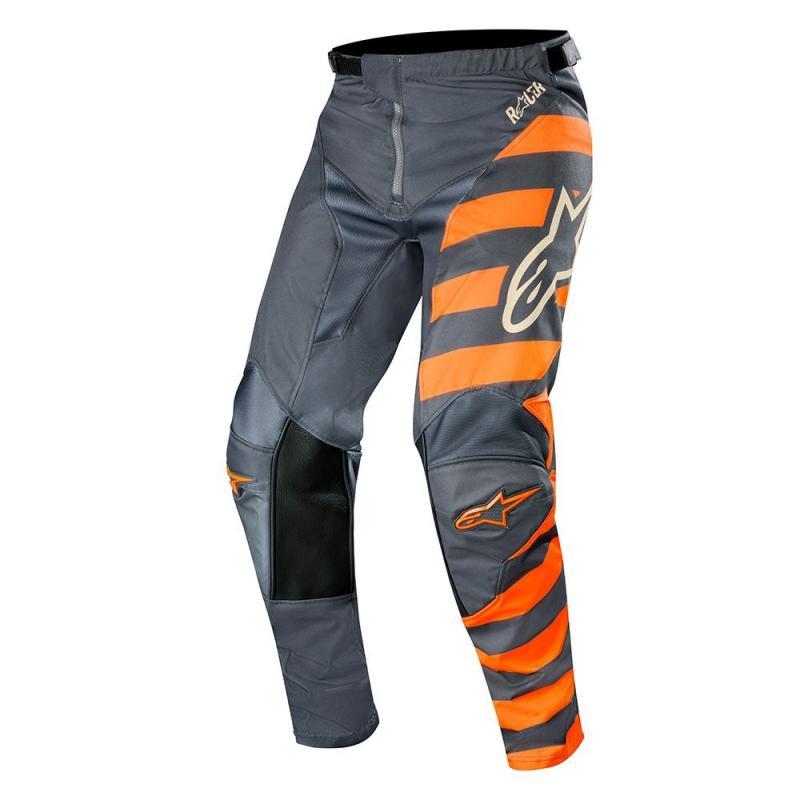 Pantalon cross Alpinestars Racer Braap anthracite/orange fluo/sand