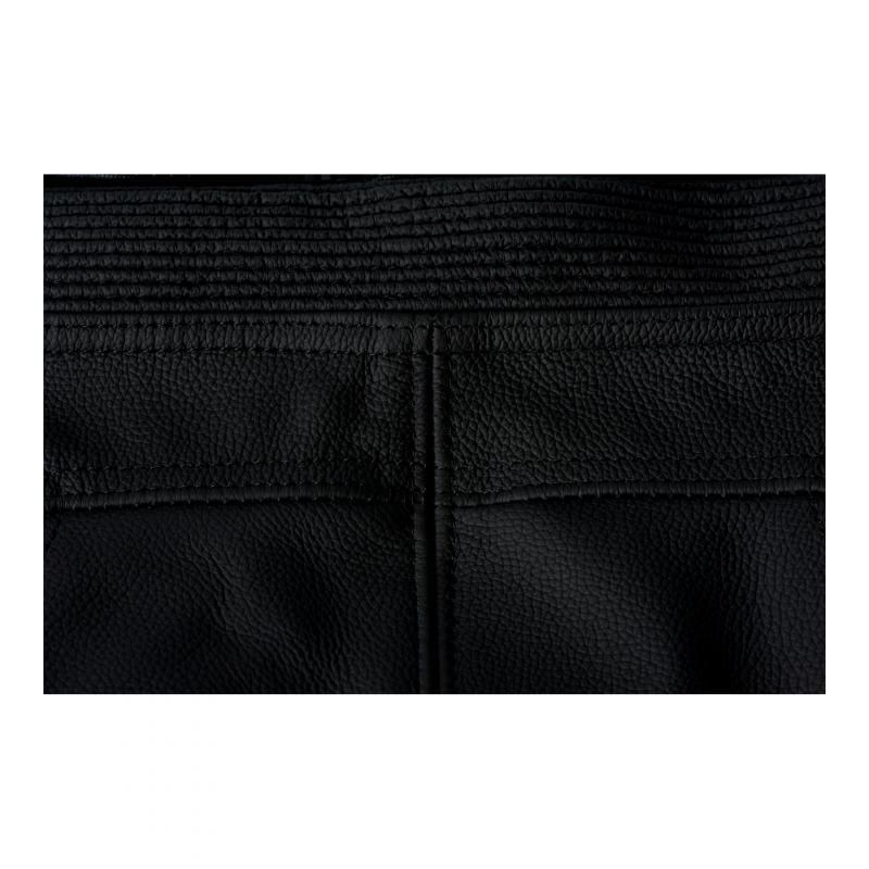 Pantalon cuir Furygan Raptor Evo noir/rouge - 6