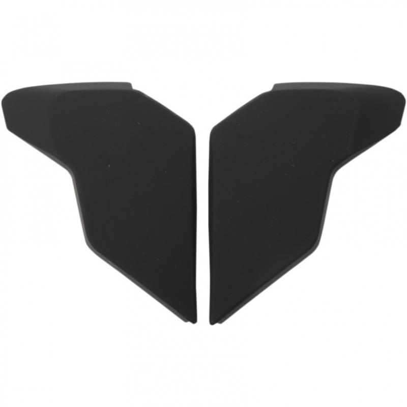 Plaques latérales Icon pour casque Airflite Rubatone noir